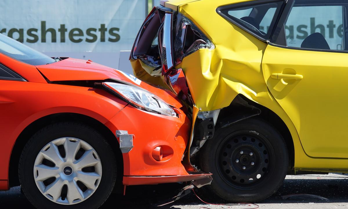 car crash covid 2020