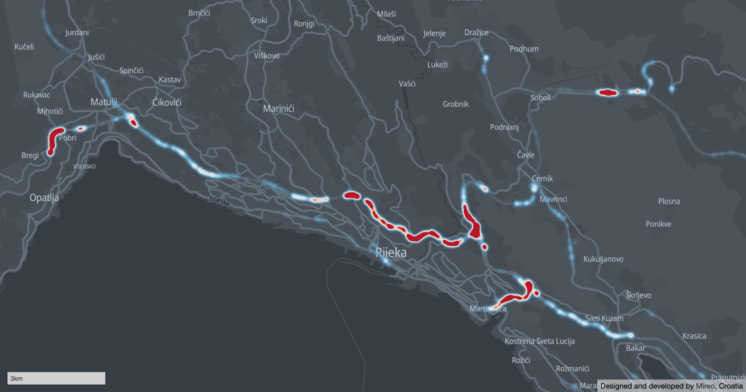 Speeding on Rijeka bypass | Brza vožnja na riječkoj obilaznici