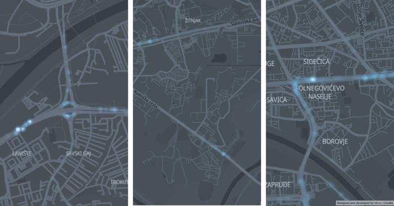 Severe speeding hotspots in Zagreb - roudabout, Slavonska flyover, Radnicka underpass| Prekoracenja brzine Zagreb Rotor, Slavonska - Drziceva nadvoznjak, Radnicka podvoznjak
